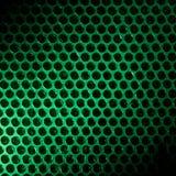 Enveloppe de bulle allumée par le feu vert photographie stock