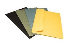 Enveloppe de couleur Image libre de droits