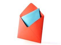 Enveloppe de couleur Photographie stock