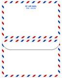 Enveloppe de courrier Images stock