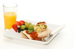 Enveloppe de déjeuner Photo stock