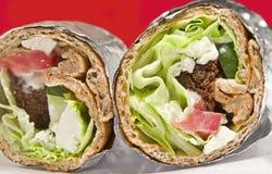 Enveloppe de Falafel images stock