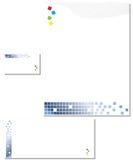 Enveloppe de papier de papeterie d'affaires Image libre de droits
