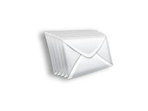 Enveloppe de paquet Photographie stock libre de droits