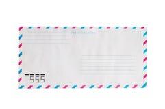 Enveloppe de par avion Image stock