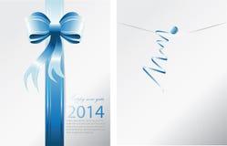 Enveloppe de ruban bleu Photo libre de droits