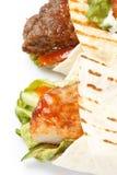 Enveloppe de tortilla images libres de droits
