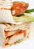 Enveloppe de tortilla photographie stock