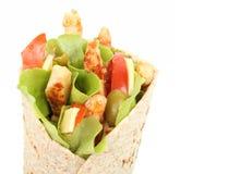 Enveloppe de tortilla photo stock