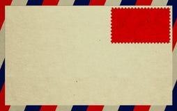 Enveloppe et estampille image libre de droits