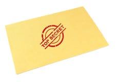 Enveloppe extrêmement secrète Photo libre de droits