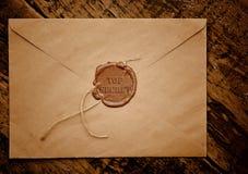Enveloppe extrêmement secrète avec l'estampille Photos libres de droits