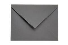Enveloppe grise fermée Photographie stock
