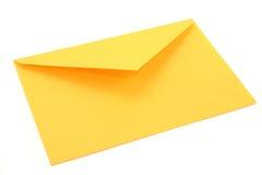 Enveloppe jaune Images libres de droits