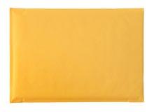 Enveloppe jaune Photographie stock libre de droits