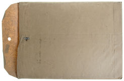 Enveloppe manillais de cru Photographie stock libre de droits