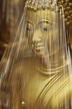 Enveloppe principale en laiton de Bouddha Images libres de droits