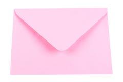 Enveloppe rose Photos libres de droits