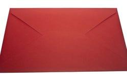 Enveloppe rouge Photographie stock