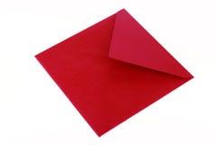 Enveloppe rouge images libres de droits