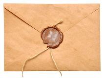 Enveloppe scellée photos stock