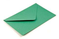 Enveloppe verte Images stock