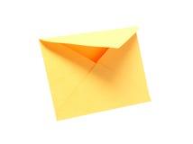 Enveloppe vide photo stock