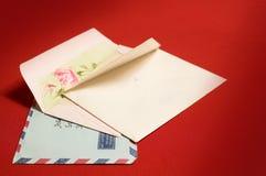 Enveloppen stock foto's