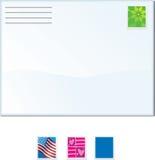 Enveloppen stock illustratie