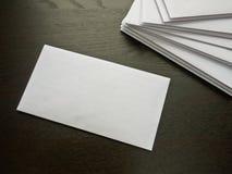 Enveloppen royalty-vrije stock foto