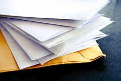 Enveloppes Image libre de droits
