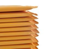 Enveloppes complétées photographie stock