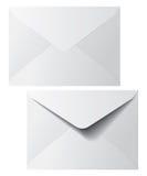 Enveloppes d'affranchissement Photographie stock