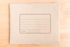 Enveloppes de expédition capitonnées photographie stock