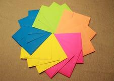 Enveloppes de partie Images stock