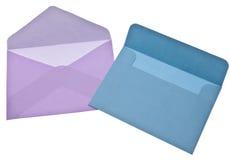 Enveloppes pour l'écriture de lettre Image libre de droits