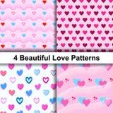 Enveloppez votre amour et donnez à votre associé Calibre de texture de papier d'emballage illustration stock