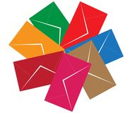 Envelops Royalty Free Stock Photo