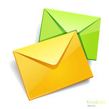 Envelops icon isolated. Royalty Free Stock Image