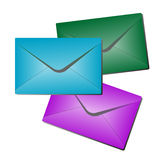 Envelops icon isolated Royalty Free Stock Image