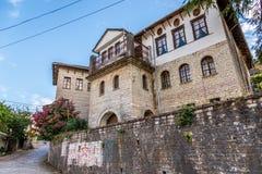 Enver Hoxhas House lizenzfreies stockfoto
