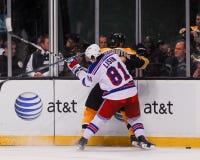 Enver Lisin, forward, New York Rangers Stock Images