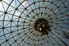 Envergure de toit Photo libre de droits