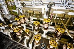Envia válvulas, motor principal Foto de Stock