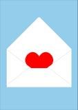 Enviado con amor Fotografía de archivo