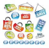 Enviado de iconos del precio stock de ilustración