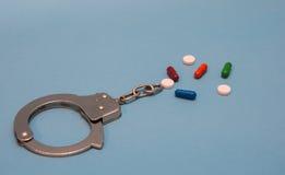 Enviciado a las drogas fotos de archivo libres de regalías