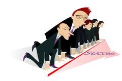 Envie ao sucesso Imagens de Stock