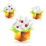 Envie caixas Imagens de Stock Royalty Free