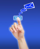 Envie a mensagem Imagem de Stock